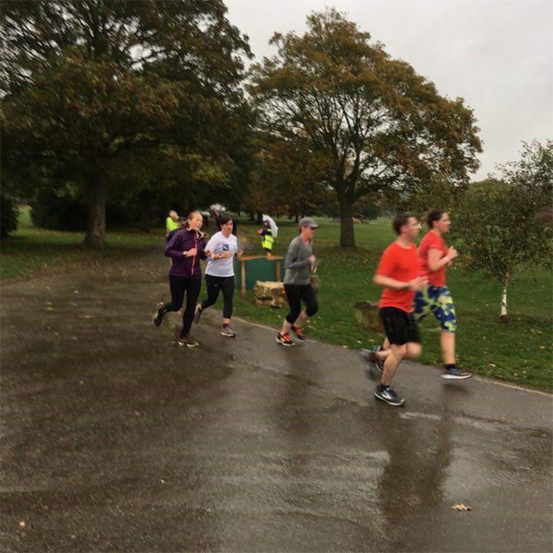 Kettering parkrun with Laura