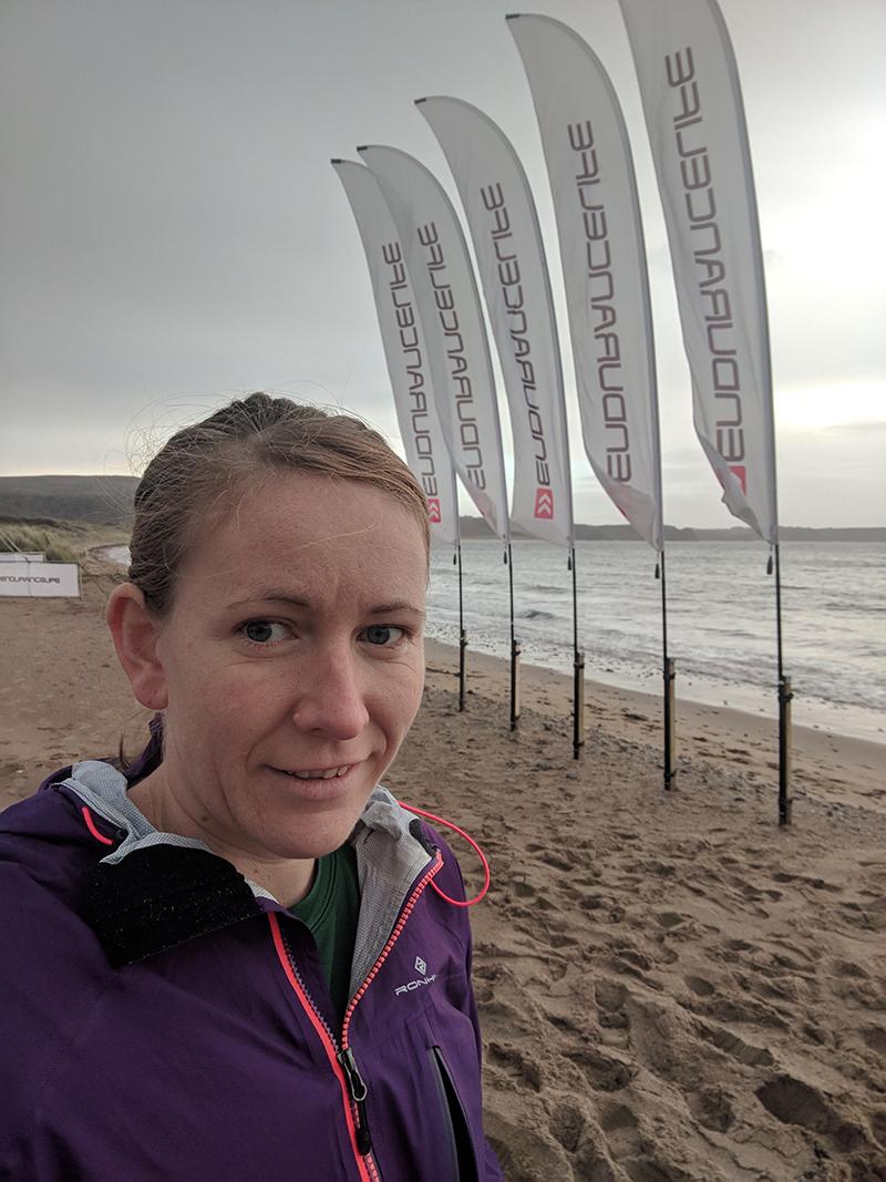Gower marathon start beach