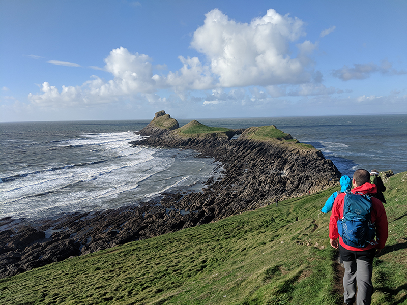 Worm's Head adventure