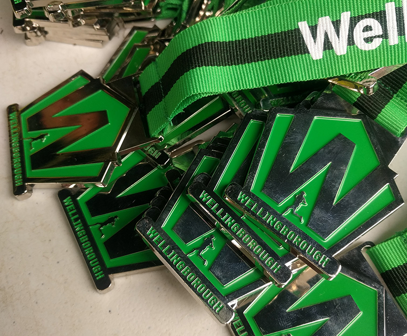 Welly Trail Race medals