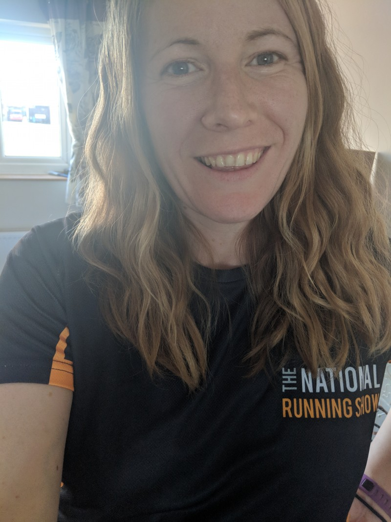 The National Running Show ambassador