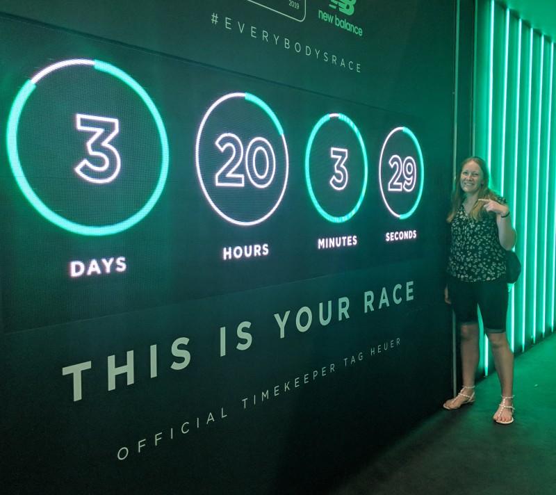 Countdown to London Marathon