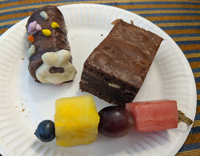 Desserts after the London Marathon