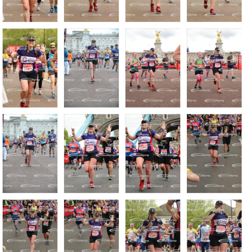 London Marathon official pictures