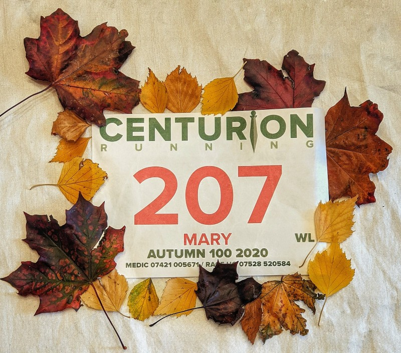 Race number for Autumn 100